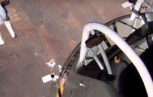 Рекордный прыжок с парашютом с высоты 40 км. Видео